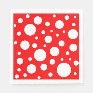 Mushroom Spots Paper Napkins