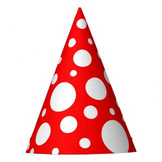Mushroom Spots Party Hats