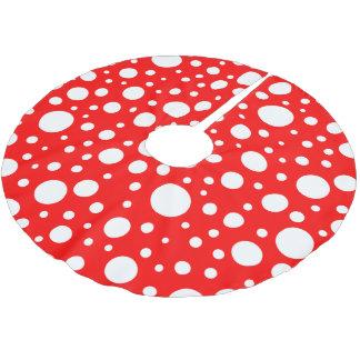 Mushroom Spots Tree Skirt