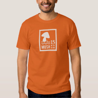 Mushroom Stamp T Shirt
