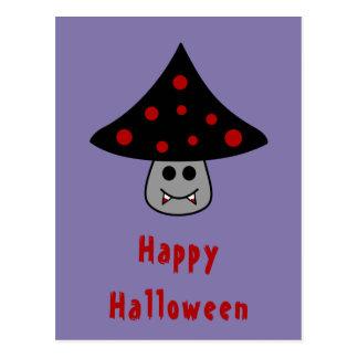 Mushroom Vampire Postcard