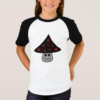 Mushroom Vampire Raglan T-Shirt (Child)