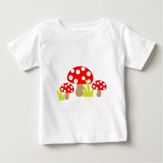 Mushrooms Baby T-Shirt