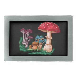 Mushrooms Belt Buckle