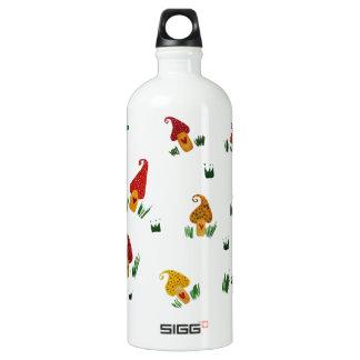 Mushrooms Custom Traveller (1.0L), White SIGG Traveller 1.0L Water Bottle