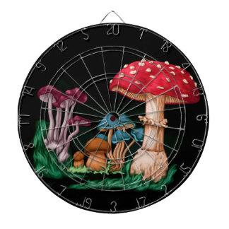 Mushrooms Dartboard
