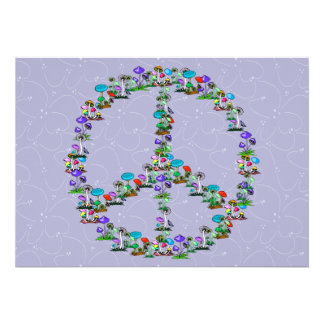 Mushrooms Of Peace Invites