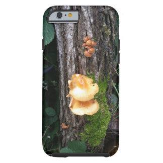 Mushrooms on Fallen Log Tough iPhone 6 Case