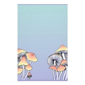 Mushrooms Personalised Stationery