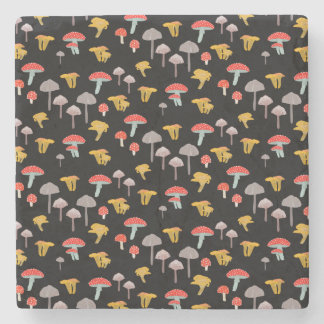 Mushrooms Stone Coaster