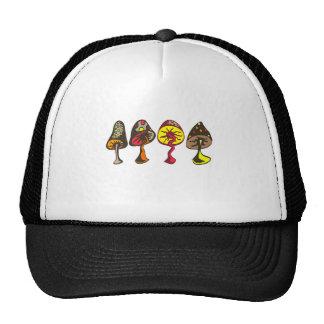 Mushrooms Trucker Hats