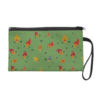 Mushrooms with hearts Wristlet