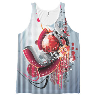 Music 18 All-Over print tank top