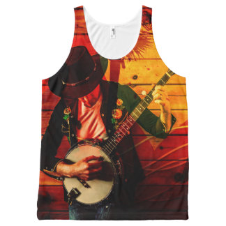 Music 21 All-Over print tank top