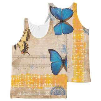 Music 30 All-Over print tank top