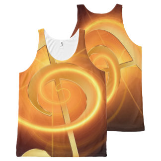 Music 31 All-Over print tank top