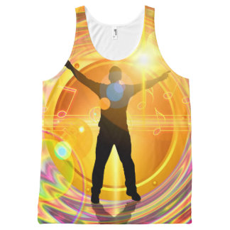 Music 32 All-Over print tank top