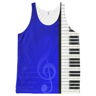 Music 6 All-Over print tank top