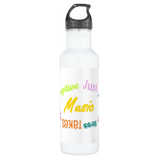 Music... 710 Ml Water Bottle