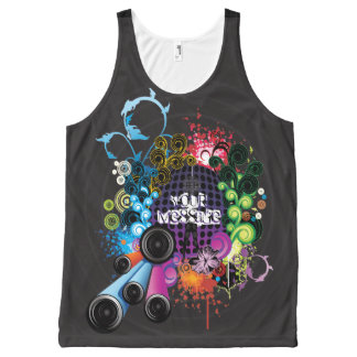 Music 8 All-Over print tank top