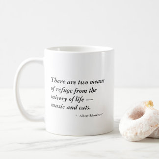 Music and Cats! Coffee Mug