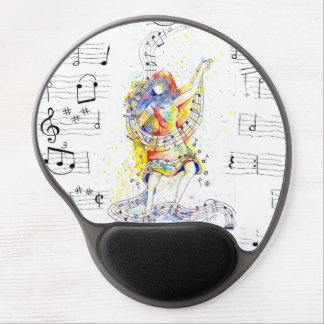 Music and Dance - Gel Mouse Pad