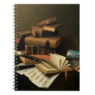 Music and Literature Spiral Notebook