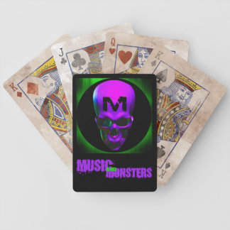 Music and Monsters playing cards