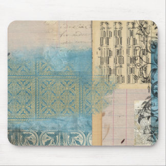 Music and Pattern Collage Mousepads