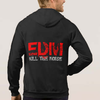 MUSIC AND SOUND EDM KILL THE NOISE HOODIE