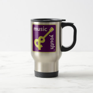 Music and Youth travel mug