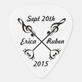 Music Arrow Crossing Guitar Pick