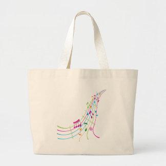 Music Art Tote Bags