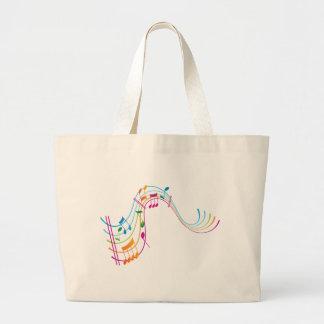 Music Art Jumbo Tote Bag