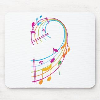Music Art Mouse Pad