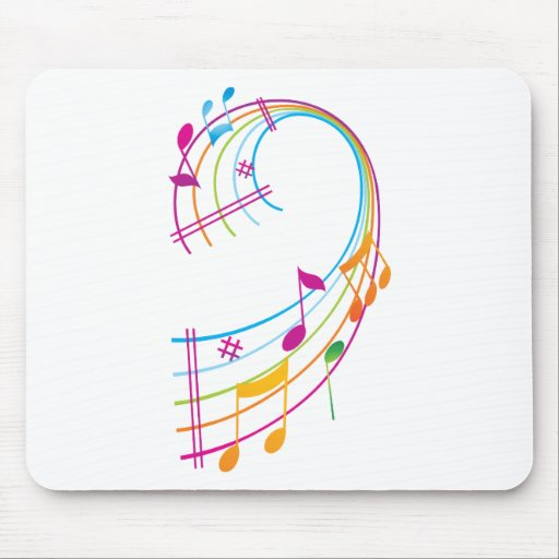 Music Art Mouse Pad