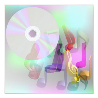 Music Background Card