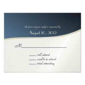 Music Bar Mitzvah Response Card Personalized Invites