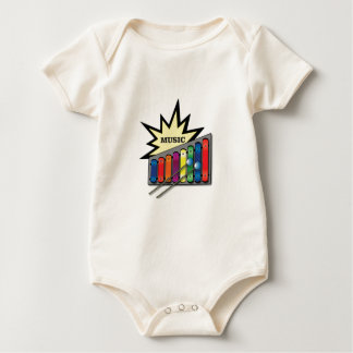 music blast x baby bodysuit