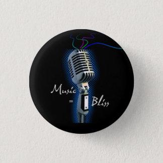 Music = Bliss  mini button