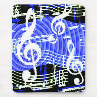 Music Blues Mouse Pad