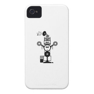 Music Bot iPhone 4 Case-Mate Case