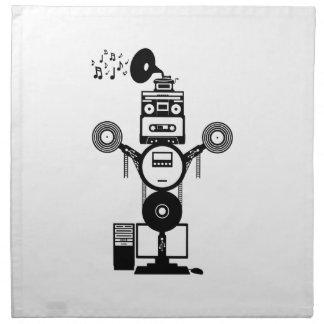Music Bot Napkin