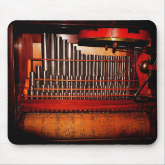music box band mouse pad