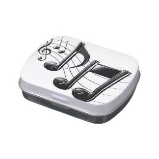 Music Box Candy Tin
