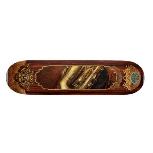 Music - Brass - Saxophone Skate Deck