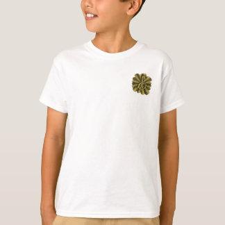 Music Brilliant Gold Original Art Treble Clef T-shirt