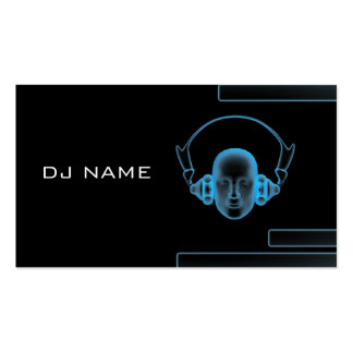 music_business_card_DJ Double-Sided Standard Business Cards (Pack Of 100)