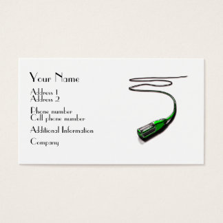 Music Business Card - Microphone