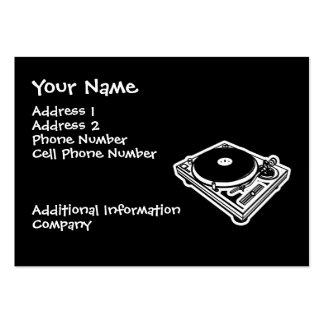 Music Business Card - Turntable - DJ